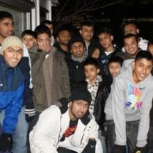 Shaathi Boys on Skates