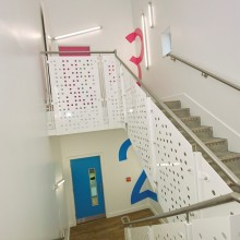 Stair Case at Osmani Centre