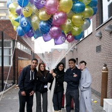 Balloon Release for the Opening Osmani Centre