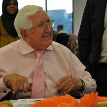 Jack Petchey CBE Visits Osmani Trust
