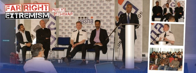 Aasha Youth Seminar on 'Far Right Extremism' with Tower Hamlets Mayor and Borough Commander