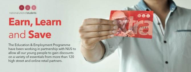 E&E Launches NUS Apprentice Extra Card