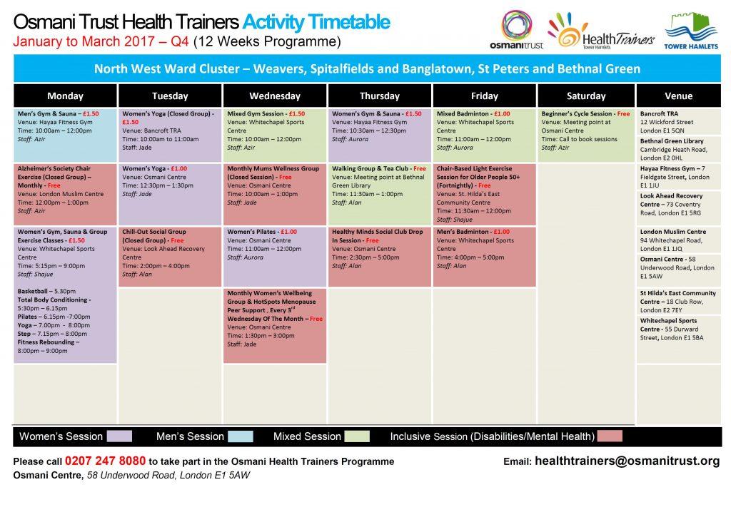 q4-timetable