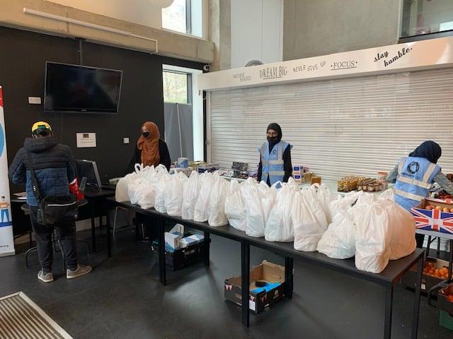 Osmani Foodbank Desk