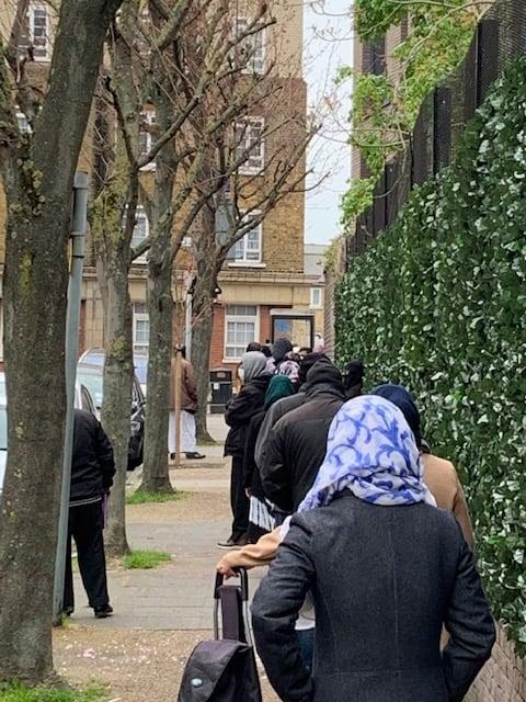 foodbank queues