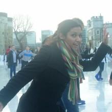Shaathi Girls at Ice Skating