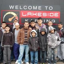 Shaathi Boys at Go Karting