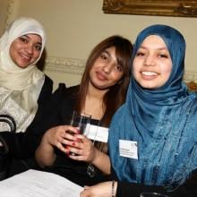 Shaathi Girls at Downing Street