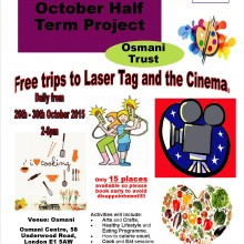 Register now for Amaal Girls October Half Term Project